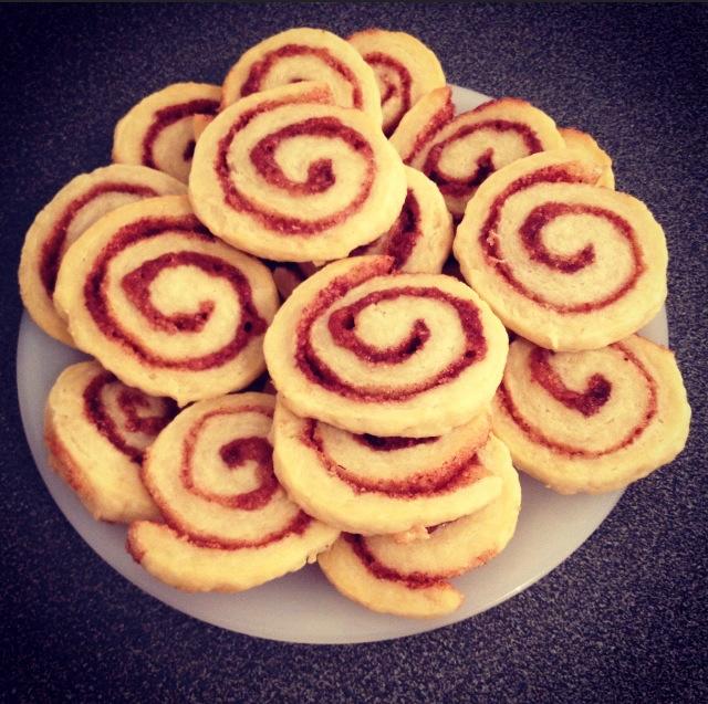 Spirales à la cannelle
