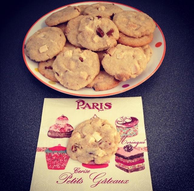 Cookies aux noix de pécans