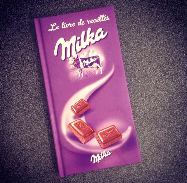 Livre de recettes Milka