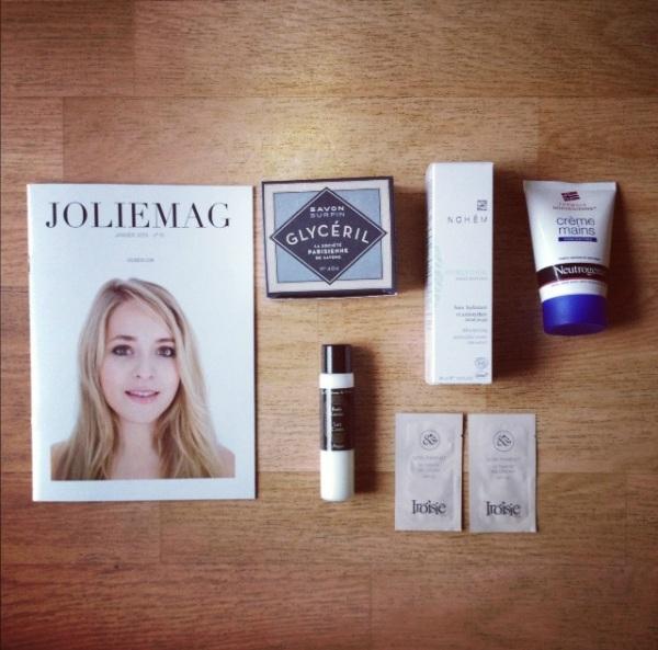 Les différentes versions de Joliebox Janvier 2013