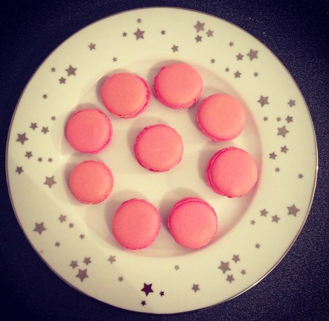 Macarons tout rose
