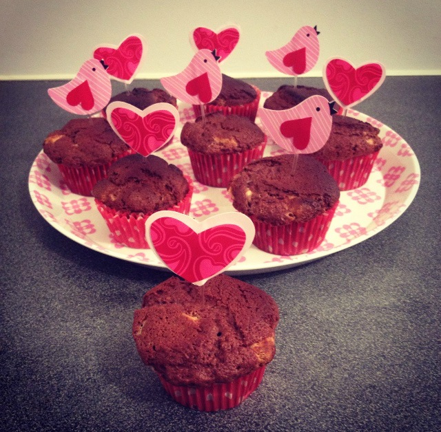Muffins 2 chocolats