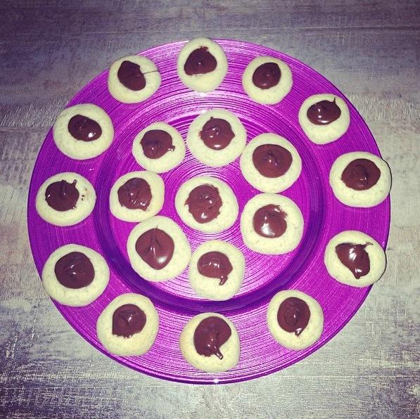 Sablés ganache chocolat