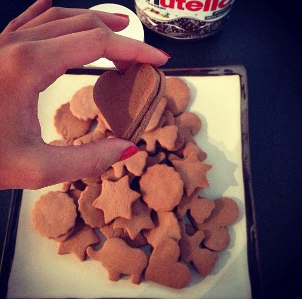 Sablés tout Nutella
