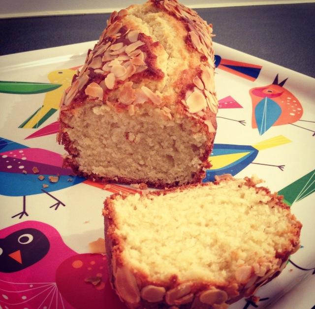 Cake yaourt, amandes, rhum