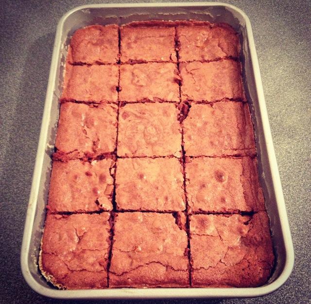 Brownie pécans-amandes