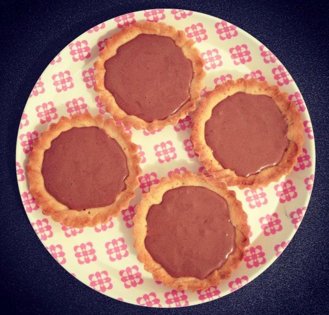 Tartelettes mousse chocolat