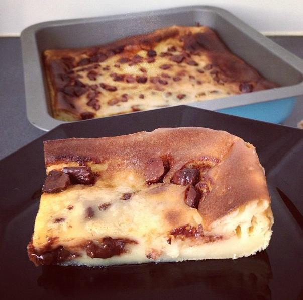Far breton aux pépites de chocolat