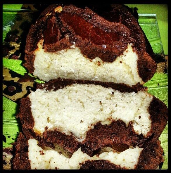 Cake choco coco amande