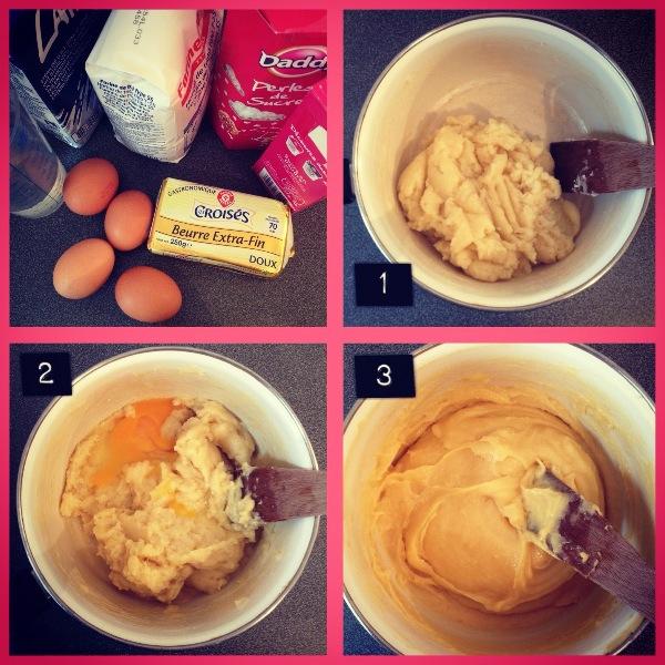 Image n°3: aspect que la pâte doit avoir avant la cuisson...Comme une purée