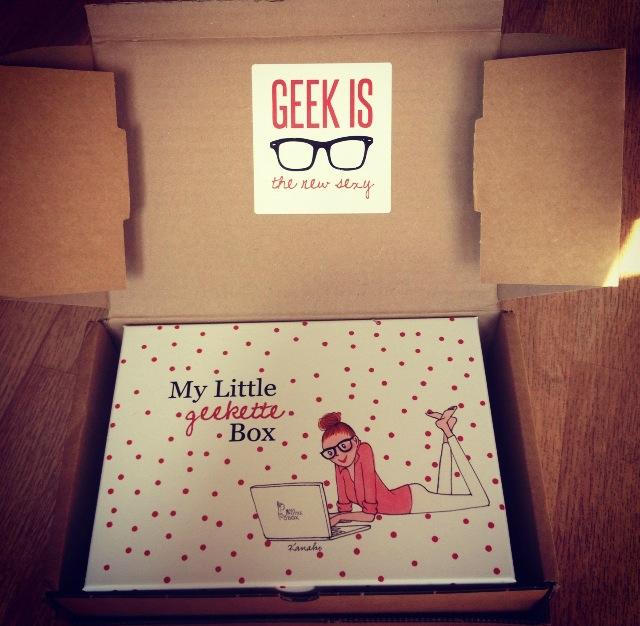 My little geekette box
