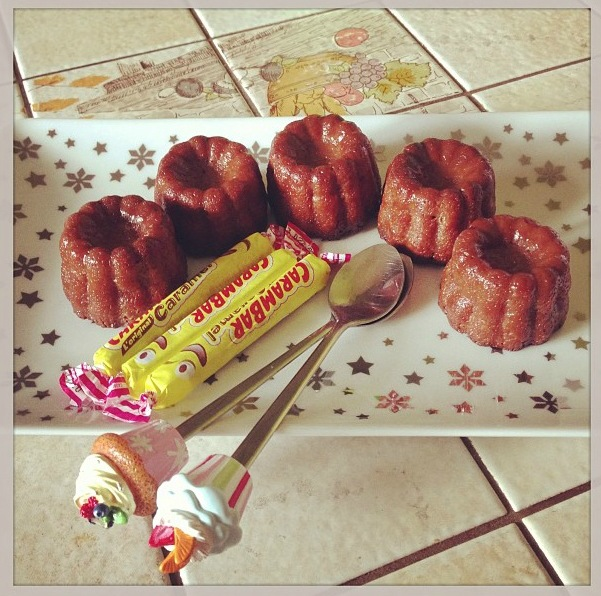 Cannelés aux carambars