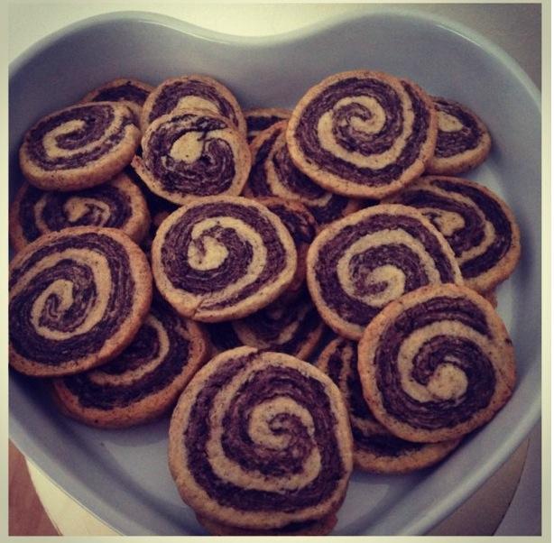 Spirales vanille-chocolat