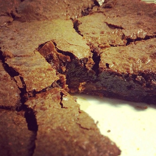 Fondant chocolat-spéculoos