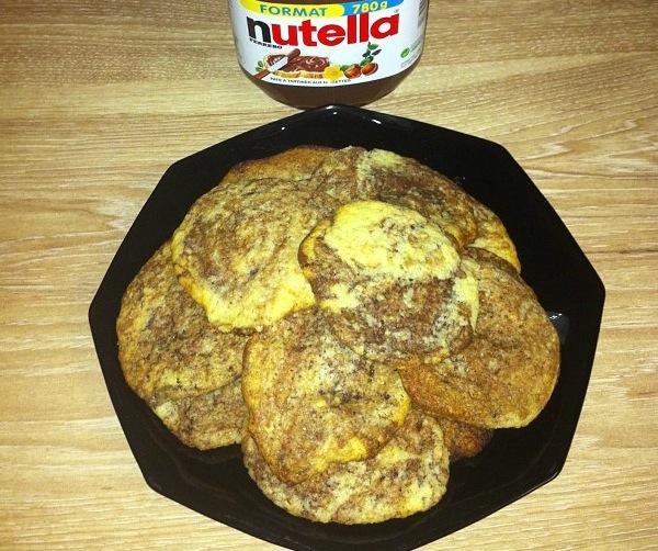 Sablés Nutella
