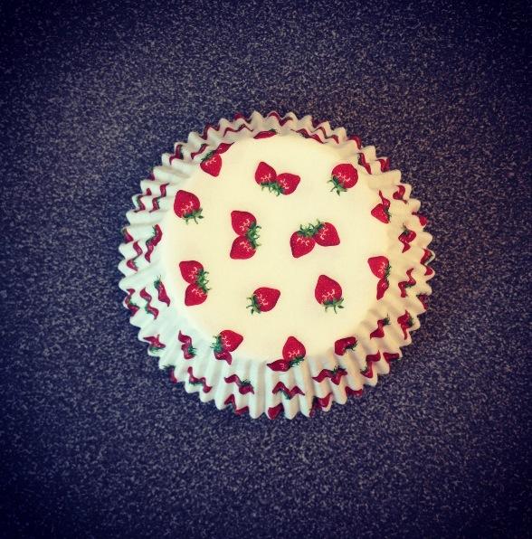 Mes jolies caissettes fraises