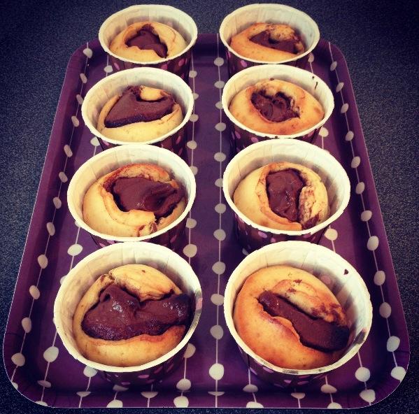 Muffins au Nutalla