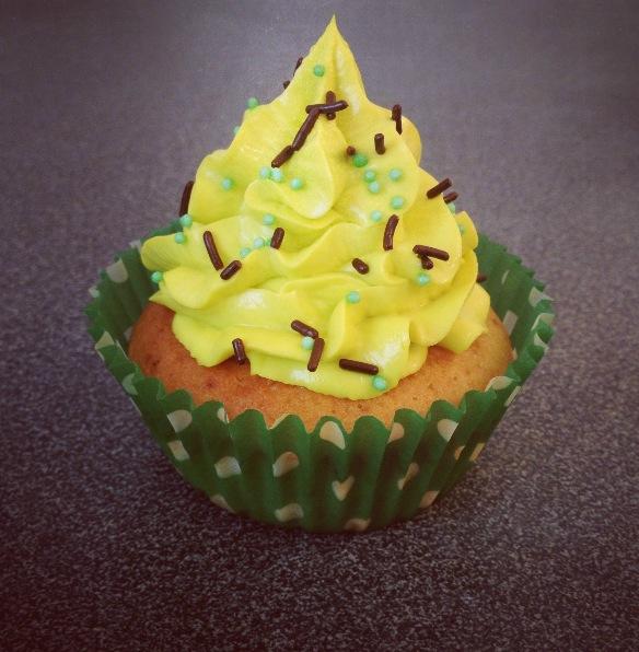 Cupcake pistache-Nutella