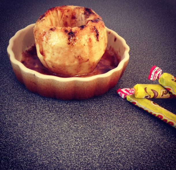 Pomme au Carambars
