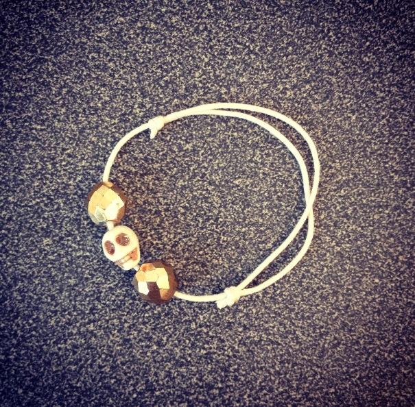 Bracelet skull snooki2b