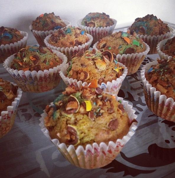 Muffins m&m's