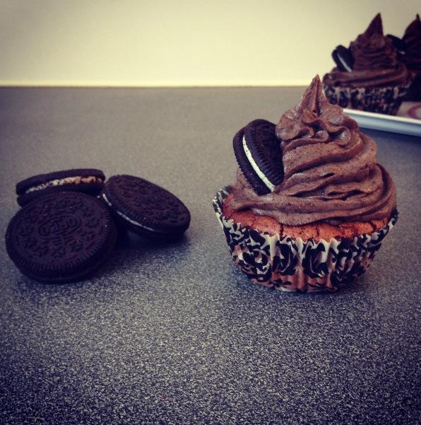 Cupcakes Oréos