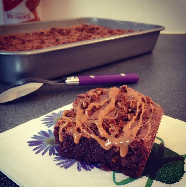 Brownie spéculoos
