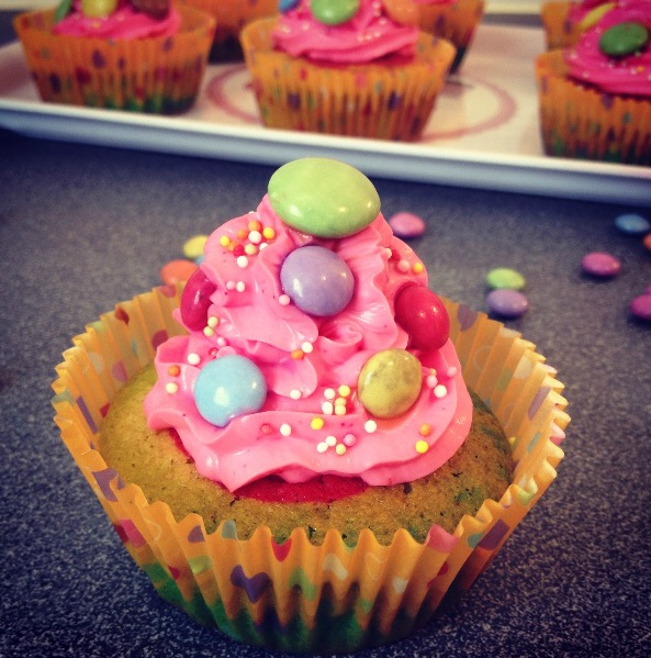 Cupcakes tout bonbons