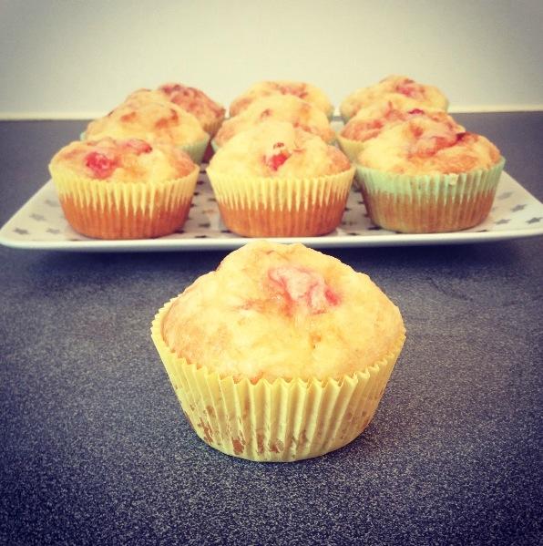 Muffins salés au poulet