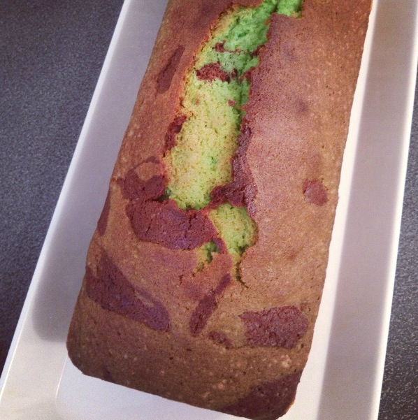 Cake pistache-chocolat