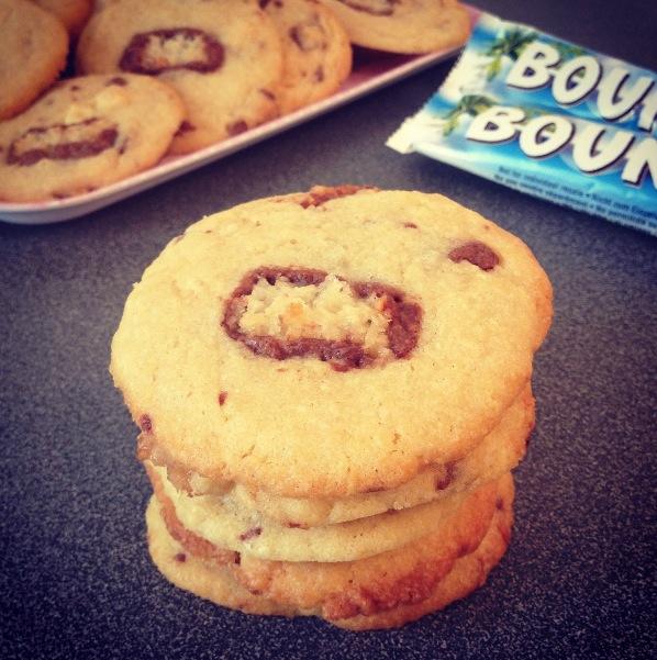 Cookies Bounty-chocolat blanc