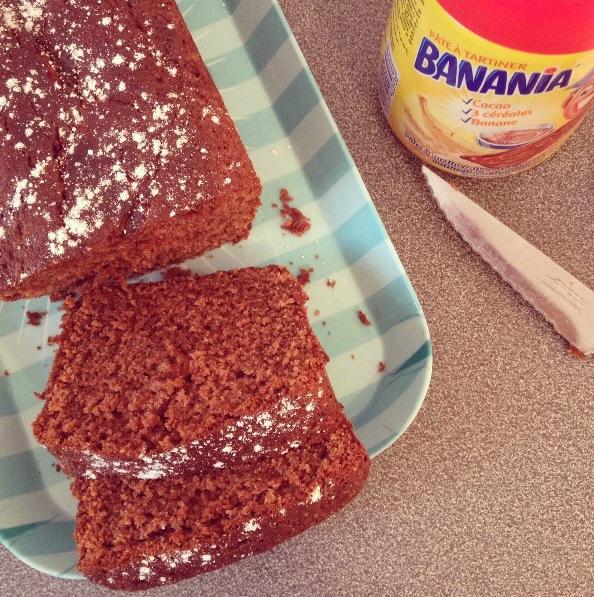Cake Banania-cake