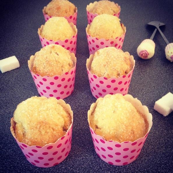 Muffins donuts au sucre
