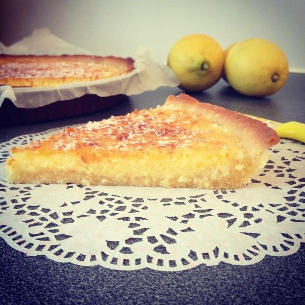 Tarte citron-coco