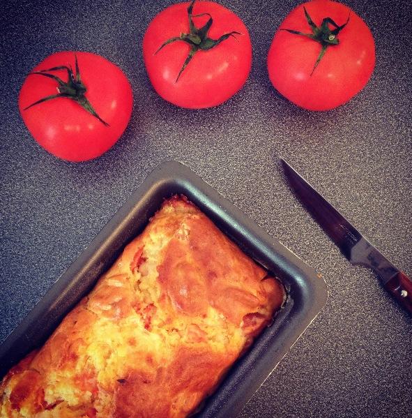 Cake poulet mozzarella tomates