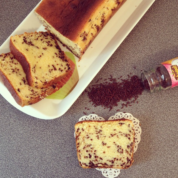 Cake vermicelles chocolat