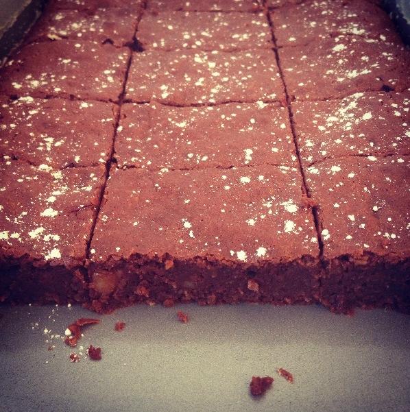 Brownies à la noix de coco