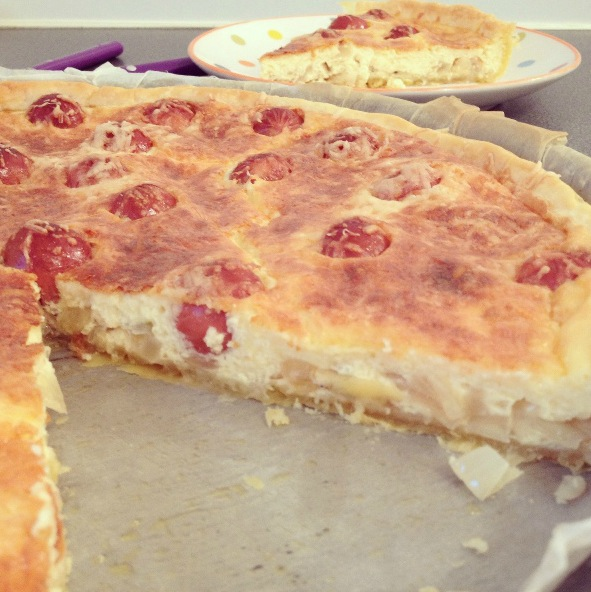 Quiche aux Knackis ball