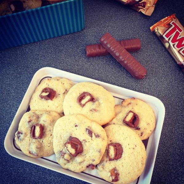 Cookies aux Twix