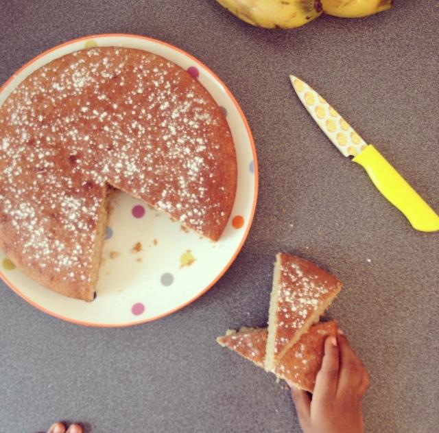 Moelleux bananes-amandes