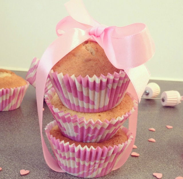 Muffins pour Octobre rose