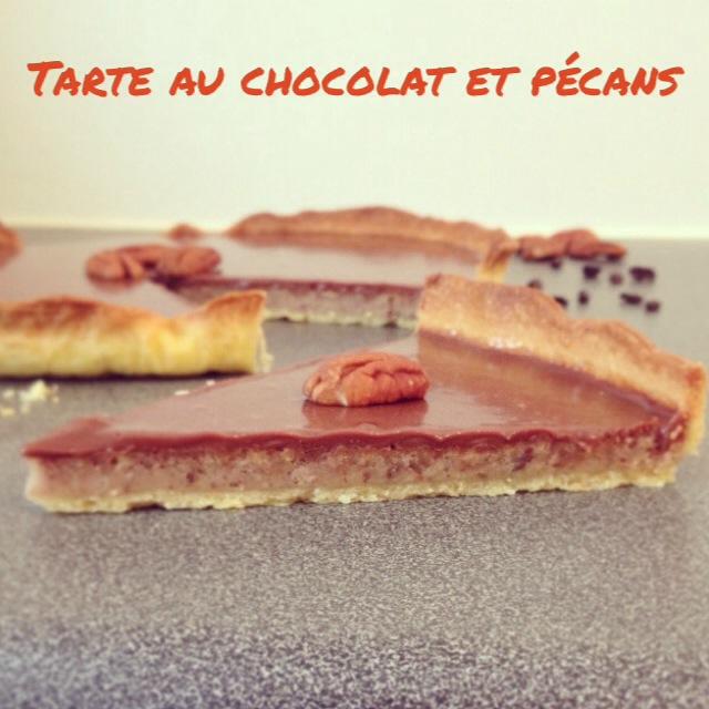 Tarte chocolat et pécans