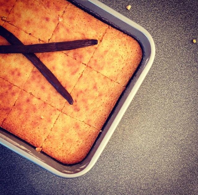Brownies vanillé