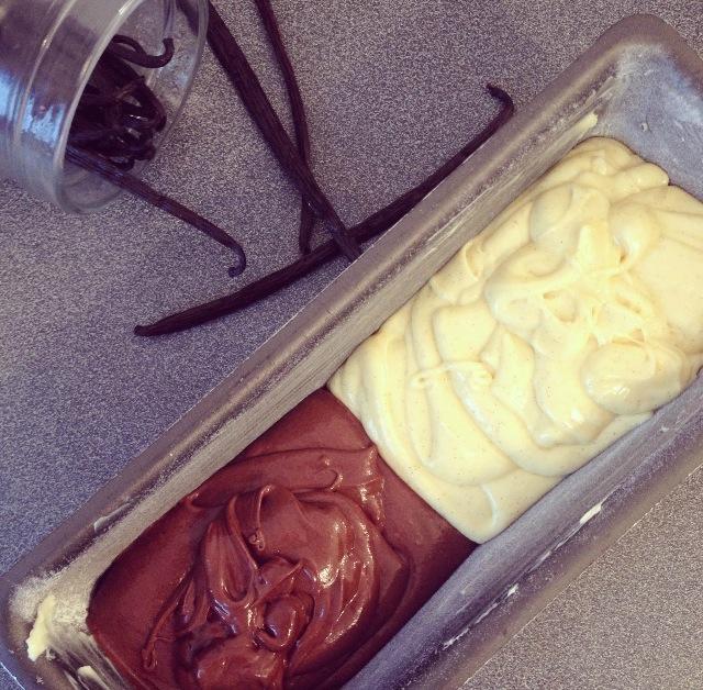 Cake bi-goût