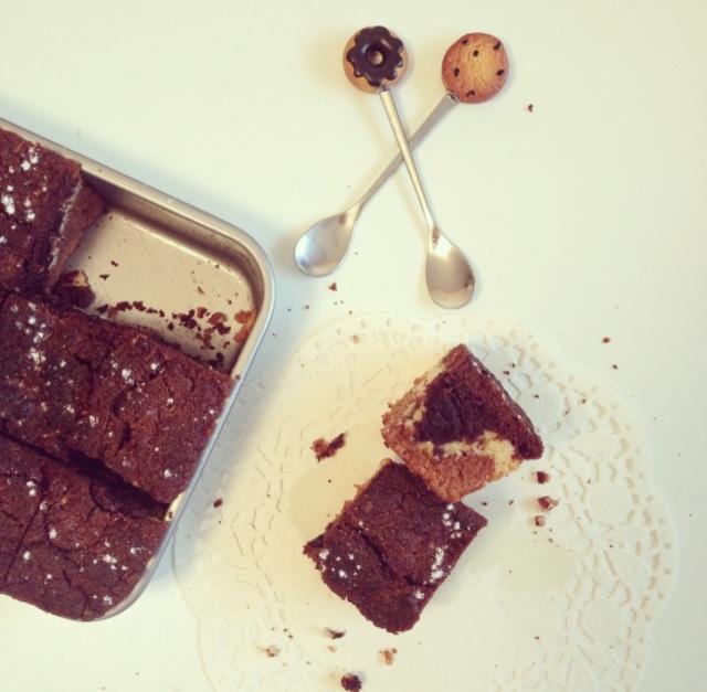 Brookie aux trois chocolats