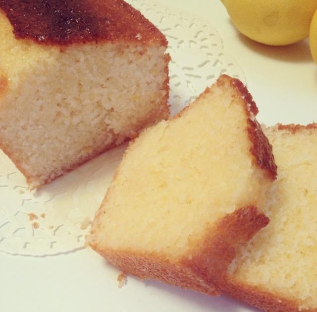 Cake au citron et à la crème fraîche