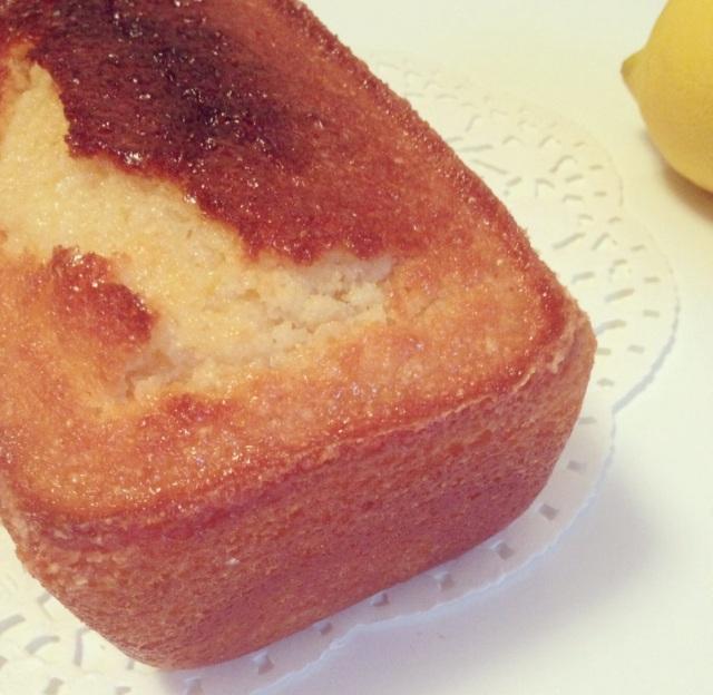 Cake au citron et crème fraîche