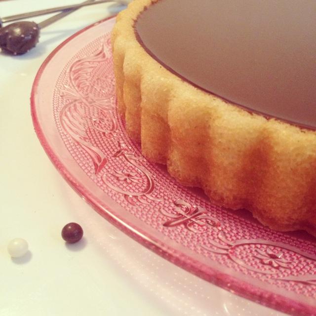 Gâteau vanillé au chocolat