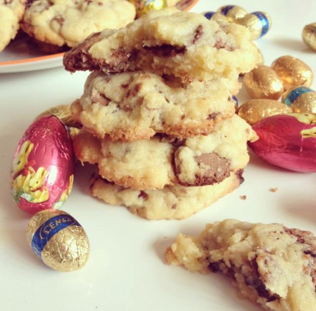 Cookies aux oeufs de Pâques