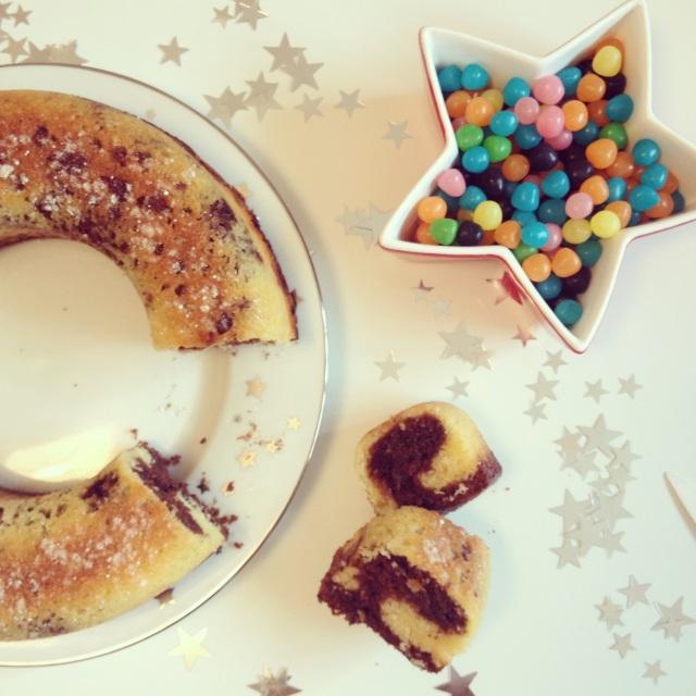 Couronne vanille et Nutella